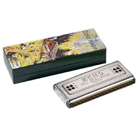 Hohner The Echo Harp 2x32 - Key of C/G